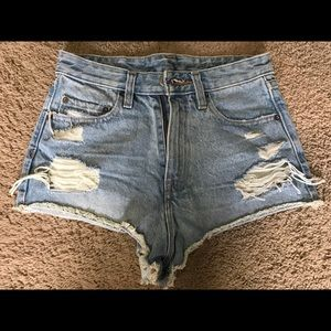 Urban Outfitters High Rise Jean Short